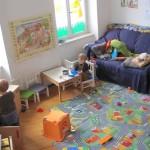 ドイツ中部の都市ライプツィヒで空き家が「子連れオフィス」に