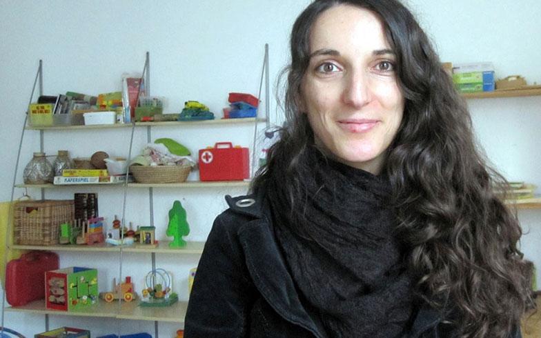 【画像5】「子連れオフィス」を運営するヨハンナ・グンダーマンさん(写真提供/吉岡春菜)