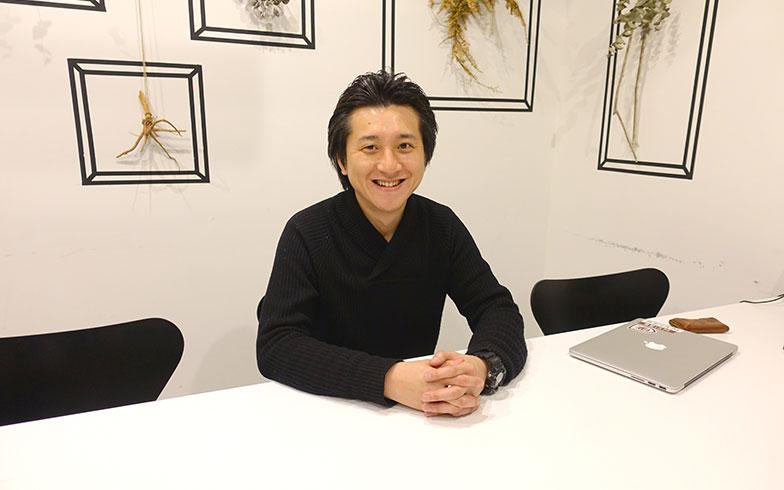 【画像6】お話を伺った挽地裕介さん。「Hondana」シリーズの部屋へ転居を考えているそうです(写真撮影/金井直子)