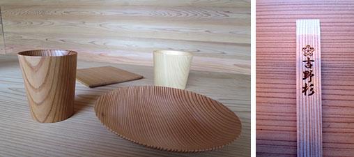 """【画像11】吉野は割り箸の産地でもある(右)。""""ピシッ!""""と箸がきれいに割れる品質が、ほかの材とは違うのだ(写真撮影/藤井繁子)"""