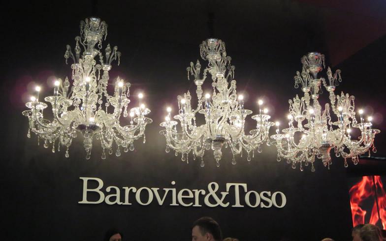 【画像2】Barovier&Tosoの歴史は13世紀まで遡る。展示内容は革新的で、いつも驚かされる(写真撮影/藤井繁子)
