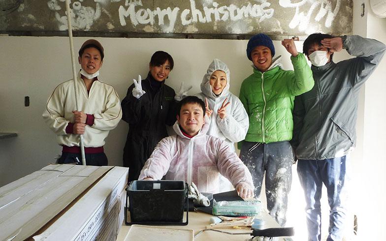 【画像3】Merry Christmas塗装大会(画像提供/HandiHouse project)