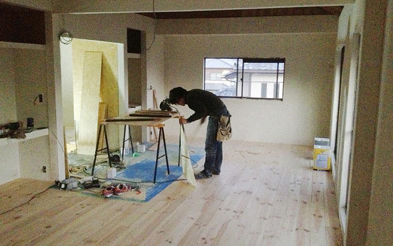【画像3】工事中に生活を始めた2階の部屋(画像提供/HandiHouse project)
