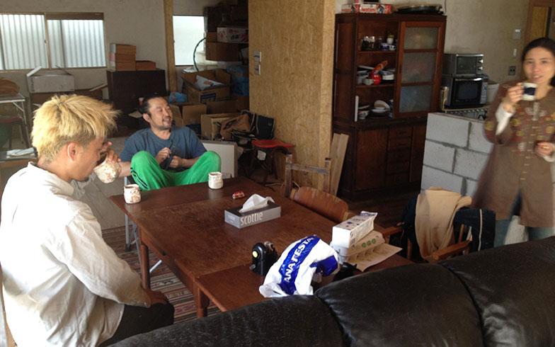 【画像8】朝のコーヒータイム(画像提供/HandiHouse project)
