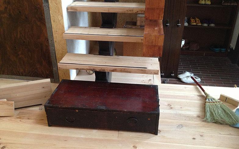 【画像10】階段の取り替え完了(画像提供/HandiHouse project)