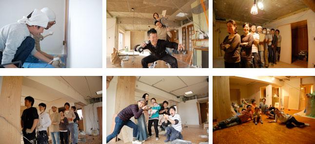 【画像5】お友達との作業記録と記念写真(画像提供/HandiHouse project)