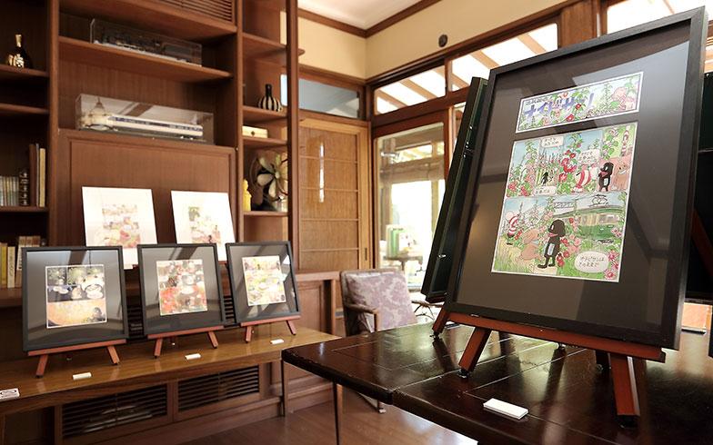 「オチビサン」10 周年原画展で初公開の鎌倉 アンノ邸に行ってみた!