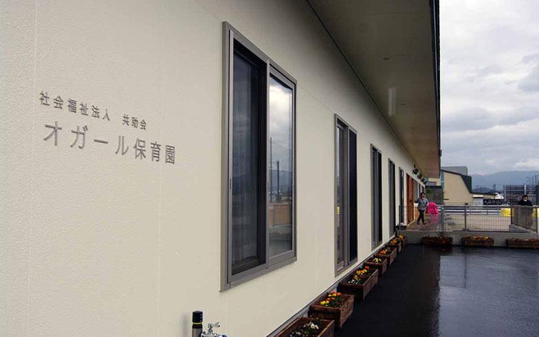 【画像3】民設民営のオガール保育園。2017年4月に開所したばかり(写真撮影/村島正彦)