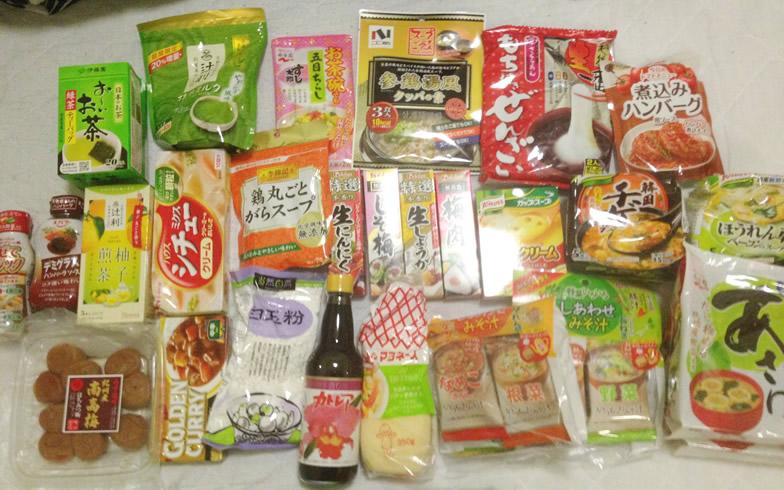 【画像1】みまちゃんに届いた仕送りのうちの一例。この回は日用品が多かったようだ(画像提供/みまちゃん)