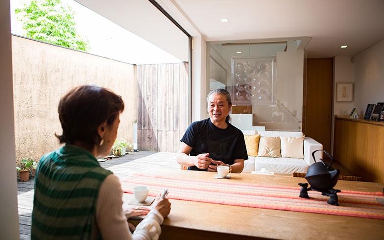 あの人のお宅拝見[3] ザ・ペニンシュラ東京を手掛けたデザイナー 橋本夕紀夫さんの30坪の自宅