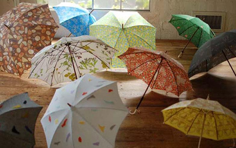 【画像5】イイダ傘店の傘たち。見るだけでワクワクしてくる(写真撮影/小野洋平)