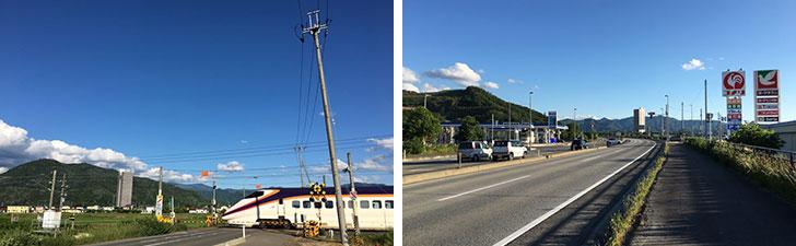 【画像3】最寄駅からは徒歩約30分と少し離れているが、幹線道路からも近く、車があれば生活にはまったく困らない(写真撮影/石井逸美)