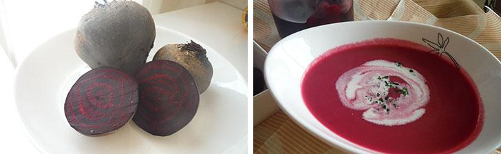 【画像8】ボルシチなどに使われるビーツも丈夫で育てやすく初心者に向く野菜。夏には冷製スープにしてもよい(画像提供/藤井純子さん)