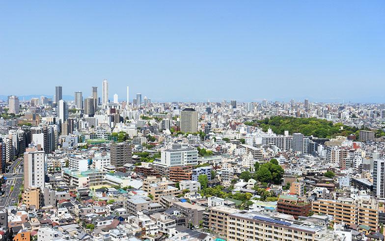 【画像2】文京区から望む池袋の街(写真/PIXTA)