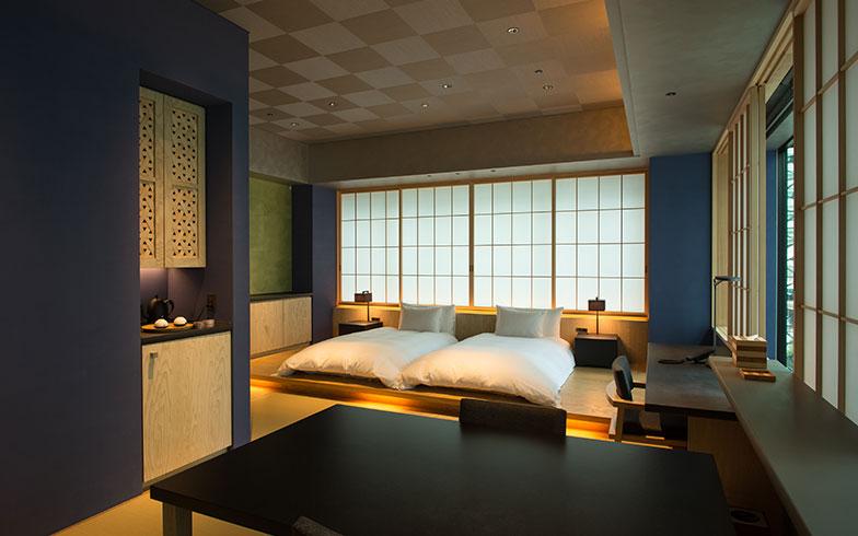【画像4】家具も建具もすべて「星のや東京」オリジナルデザインで統一されている(撮影/片山貴博)