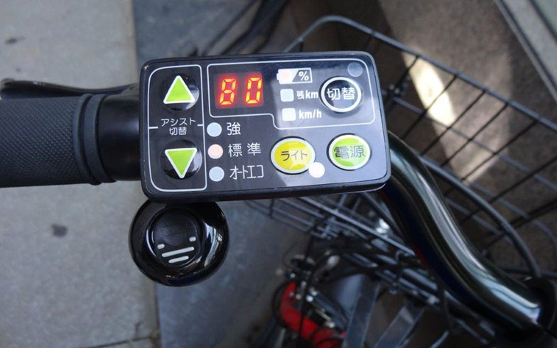 【画像4】ドコモ・バイクシェアの自転車はすべて電動アシスト付。東京は意外と坂道が多いので、この電動アシストは利用者にとってうれしい機能になっている(写真撮影/SUUMOジャーナル編集部)