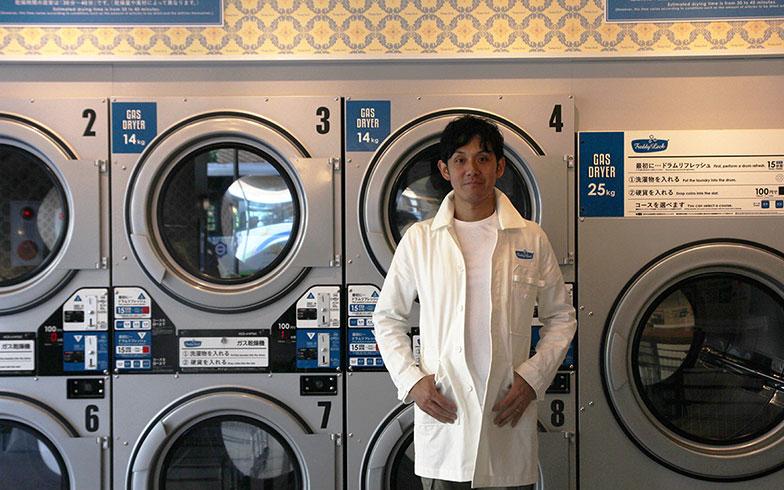 【画像7】プライベートでも洗濯好きという松延さん(写真撮影/小野洋平)