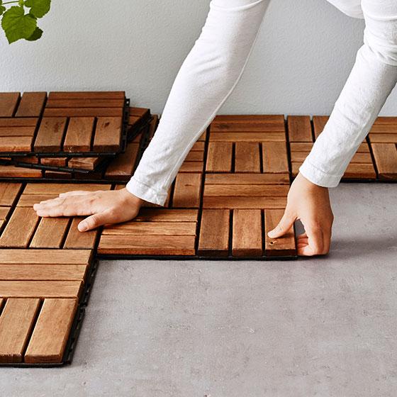 【画像10】簡単に取り外しできるので下の床を掃除したいときにも便利。RUNNEN:ルッネン(画像提供/イケア)