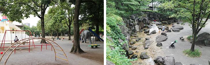 【画像4】日中はファミリーが多い印象の「飛鳥山公園」。公園内に噴水や人工川も流れており、憩いの場となっている(写真撮影/SUUMOジャーナル編集部)