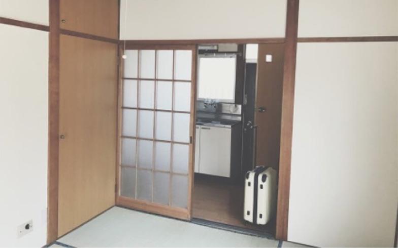 【画像3】おそるおそる入居を開始した当時(画像提供/宇佐美ゆき)