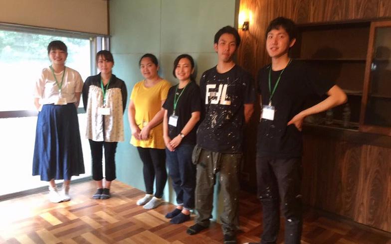 【画像6】第3号「バンマイおっぱま」は留学生と地域を融合させるプロジェクトの場(写真提供/KUG空き家プロジェクト)