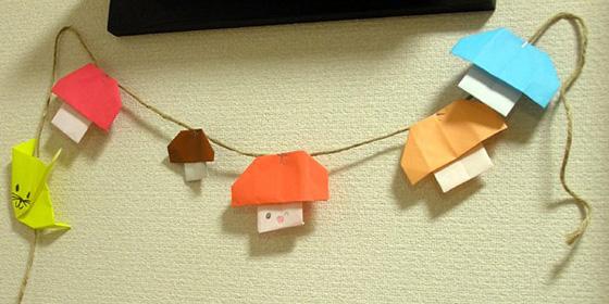 【画像3】麻ひもはクリップで吊るすほかに、直接、ヒモに貼り付けてもかわいく飾れます(画像提供/Standard+)