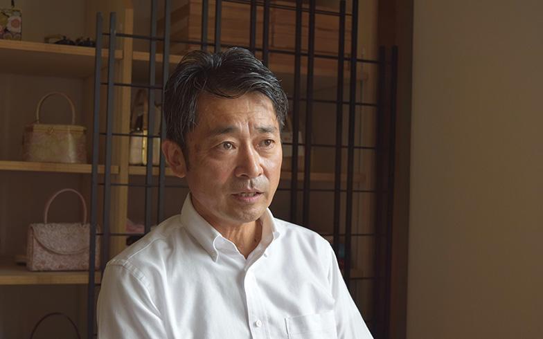 【図2】復興協議会の代表を務めた中村康夫さん(写真撮影/SUUMOジャーナル編集部)