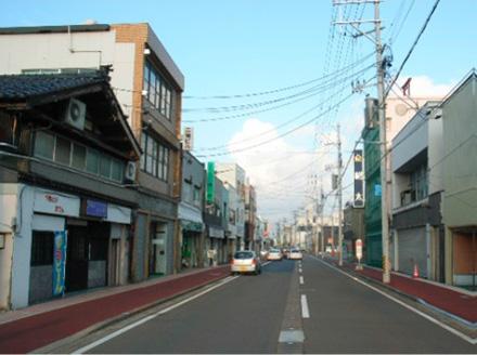 【図8】現在のえんま通り商店街の様子(写真提供/えんま通り復興協議会)