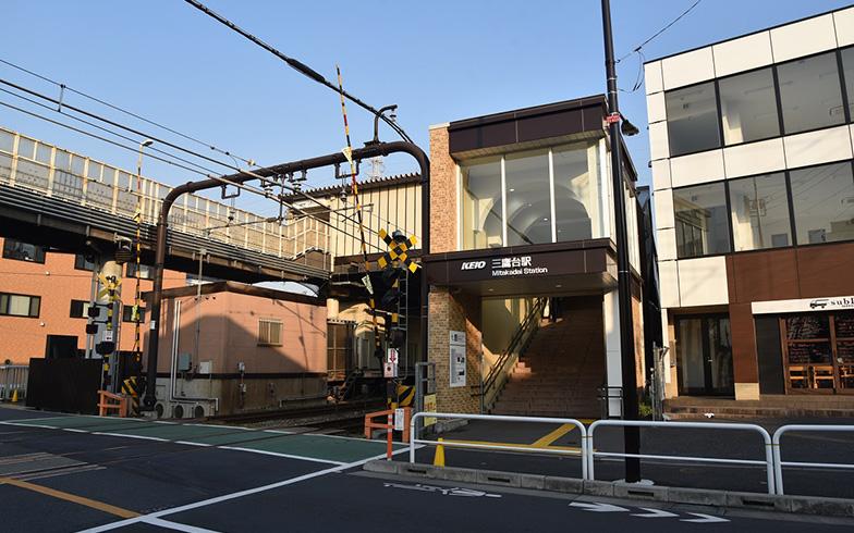 【画像1】三鷹台駅前(写真撮影/榎並紀行)