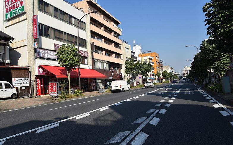 【画像5】三ツ沢下町駅の街並み(写真撮影/榎並紀行)
