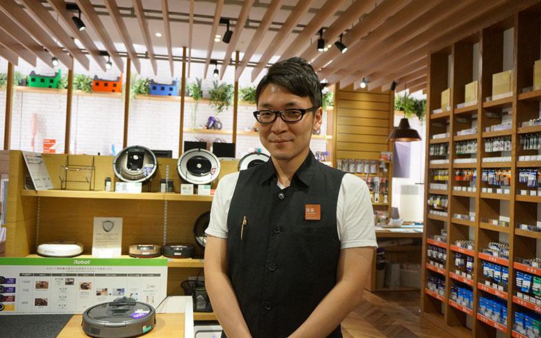 【画像1】後藤さんの前職は大手家電量販店。家電販売歴10年以上のベテランだ(写真撮影/蜂谷智子)