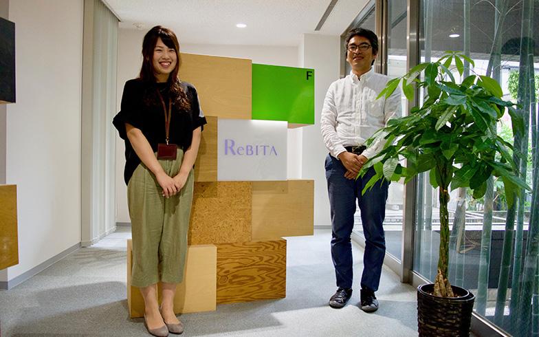 【画像4】家を購入してリノベーションをする人をサポートしているリビタの鈴木芽久美さんと桜庭伸也さん(写真撮影/SUUMOジャーナル編集部)