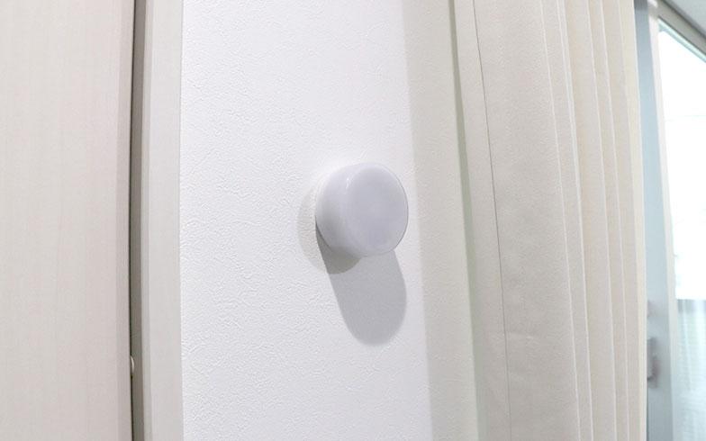 【画像4】ネイチャーセンサーリモートコントローラー。入居中に家電を買い替えた場合でも、これで動かせるように簡単にセッティングできる(写真提供/ロボットホーム)