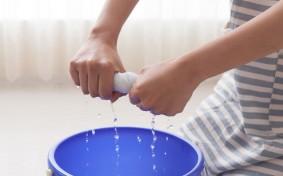 絞り方でこんなに違う?今年の大掃除では水がよく切れる「〇しぼり」で家中をピカピカに!