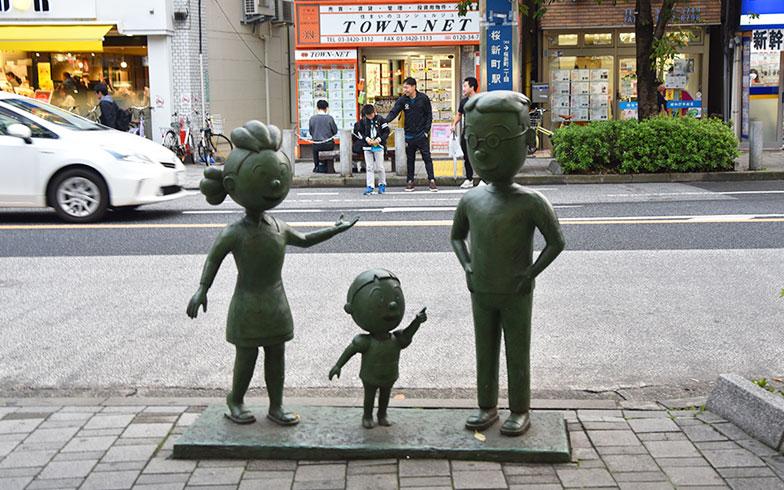【画像3】サザエさんのオブジェに和む(写真撮影/小野洋平)