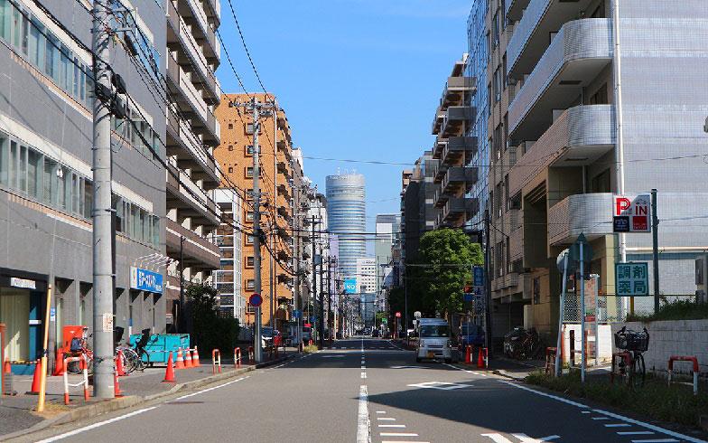 【画像1】大きな建物が多い北口(写真撮影/小野洋平)