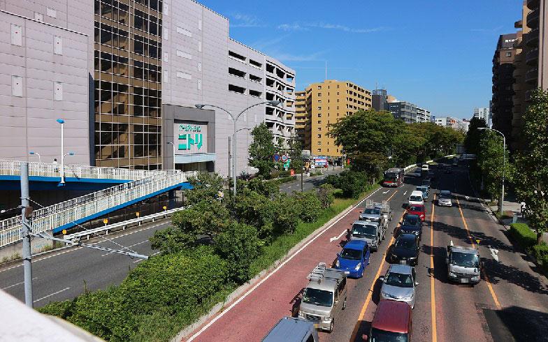 【画像3】県道13号線から続く環状2号線は混雑することが多いそう(写真撮影/小野洋平)