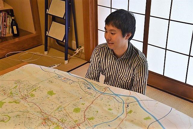 【画像3】地理人こと今和泉さん(撮影/榎並紀行)