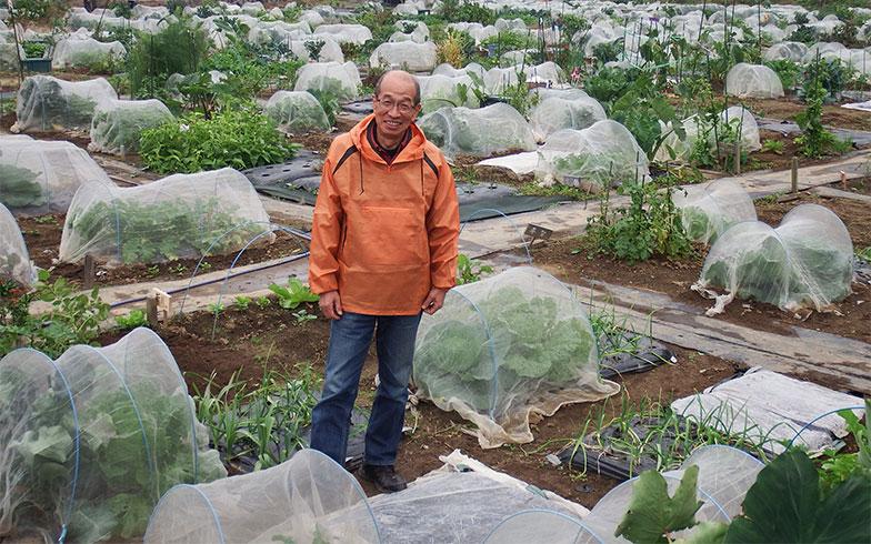 【画像5】「シェア畑 川崎多摩」の菜園アドバイザー、松下公勇さん。ボランティアで「里山を守る会」に入り、地域社会に興味をもったのが今に至るきっかけだったそうだ(写真撮影/織田孝一)
