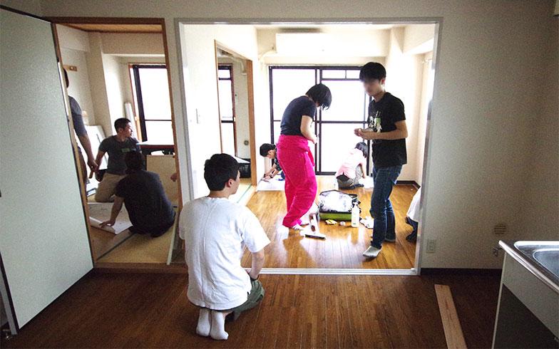 【画像8】KUMIKI PROJECT株式会社とコラボレーションして行ったワークショップの風景(画像提供/渋谷純平さん)