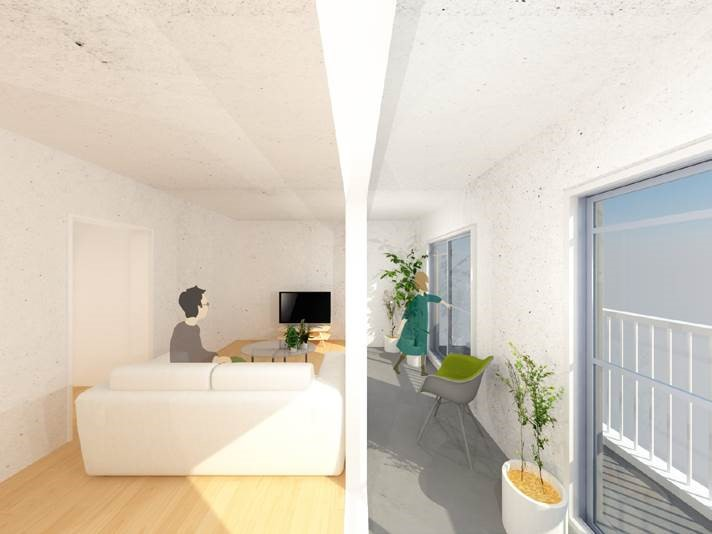 【画像5】サンルームがある家(画像提供/大阪府住宅供給公社)