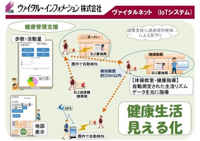 【画像2】システムの概要(画像提供/ヴァイタル・インフォメーション社)