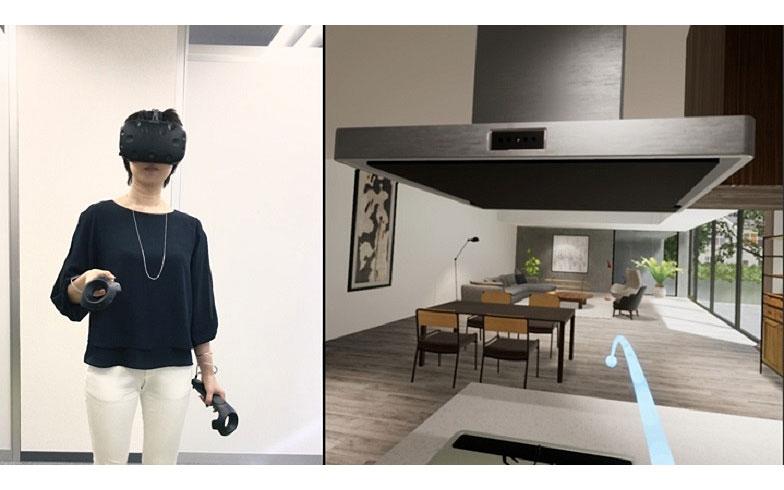 日当たりから家具配置まで、建てる前に体験できるバーチャルモデルルーム「Solid Vision」