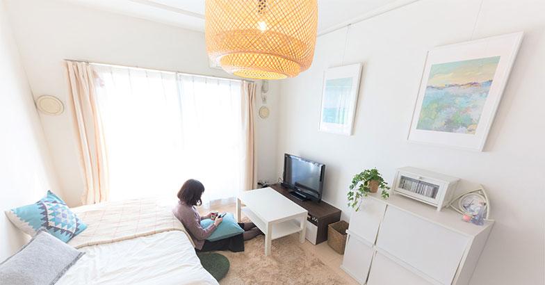 【画像7】部屋のコンセプトは「爽やか美人部屋」(写真撮影/アウル株式会社)