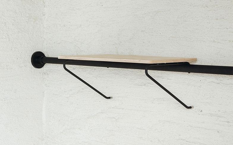 【画像2】ねじやくぎいらず。簡単に設置できるドローアラインの棚(画像提供/平安伸銅工業株式会社)