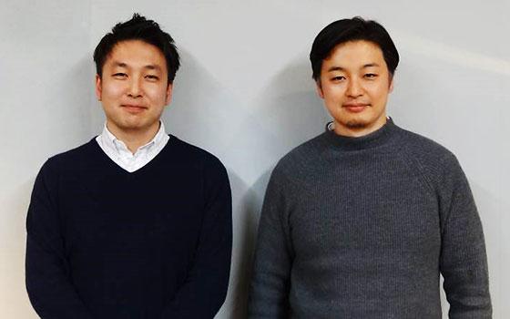 【画像3】不動産の紹介担当の小堀さん(左)と、設計ディレクション担当の林さん(右)。(写真撮影/SUUMOジャーナル編集部)