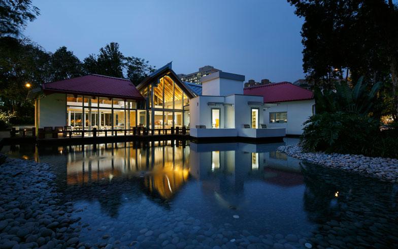【画像8】Frank Gehry設計の[Maggie's Hong Kong] 2013年開設(写真提供/藤井浩司(ナカサアンドパートナーズ))