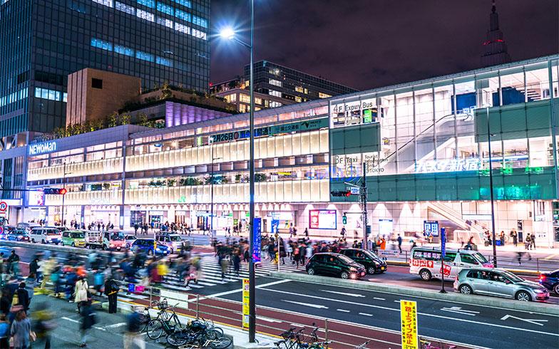 新宿駅(写真/PIXTA)