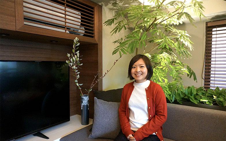 グローバルベイス株式会社広報企画室 植田有紀さん(写真撮影/蜂谷智子)