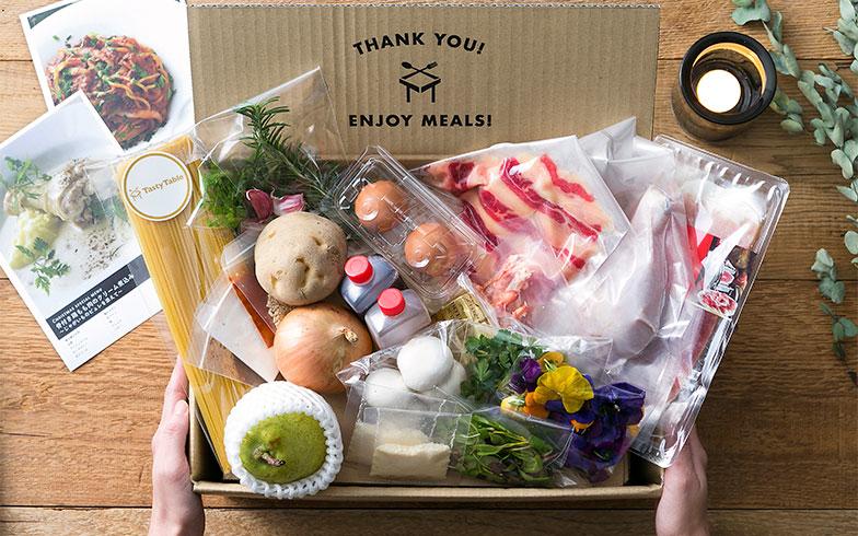 食材はひとつひとつ丁寧に梱包されて届く(画像提供/株式会社ブレンド)